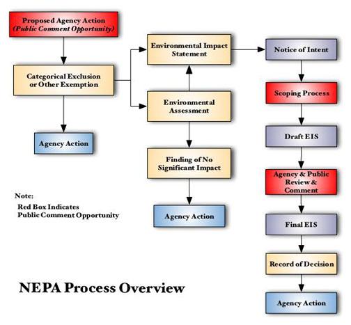 NEPA Flow Chart - Del Albright