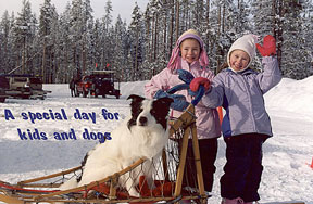 Kids and dogs - click for a larger image