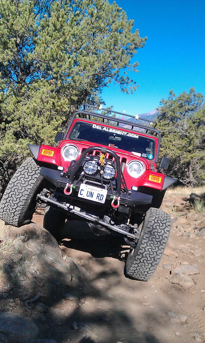 Jeep in CO