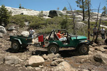 click to see rock hauling rigs