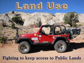 Enter Del Albright's Land Use and Access Pages